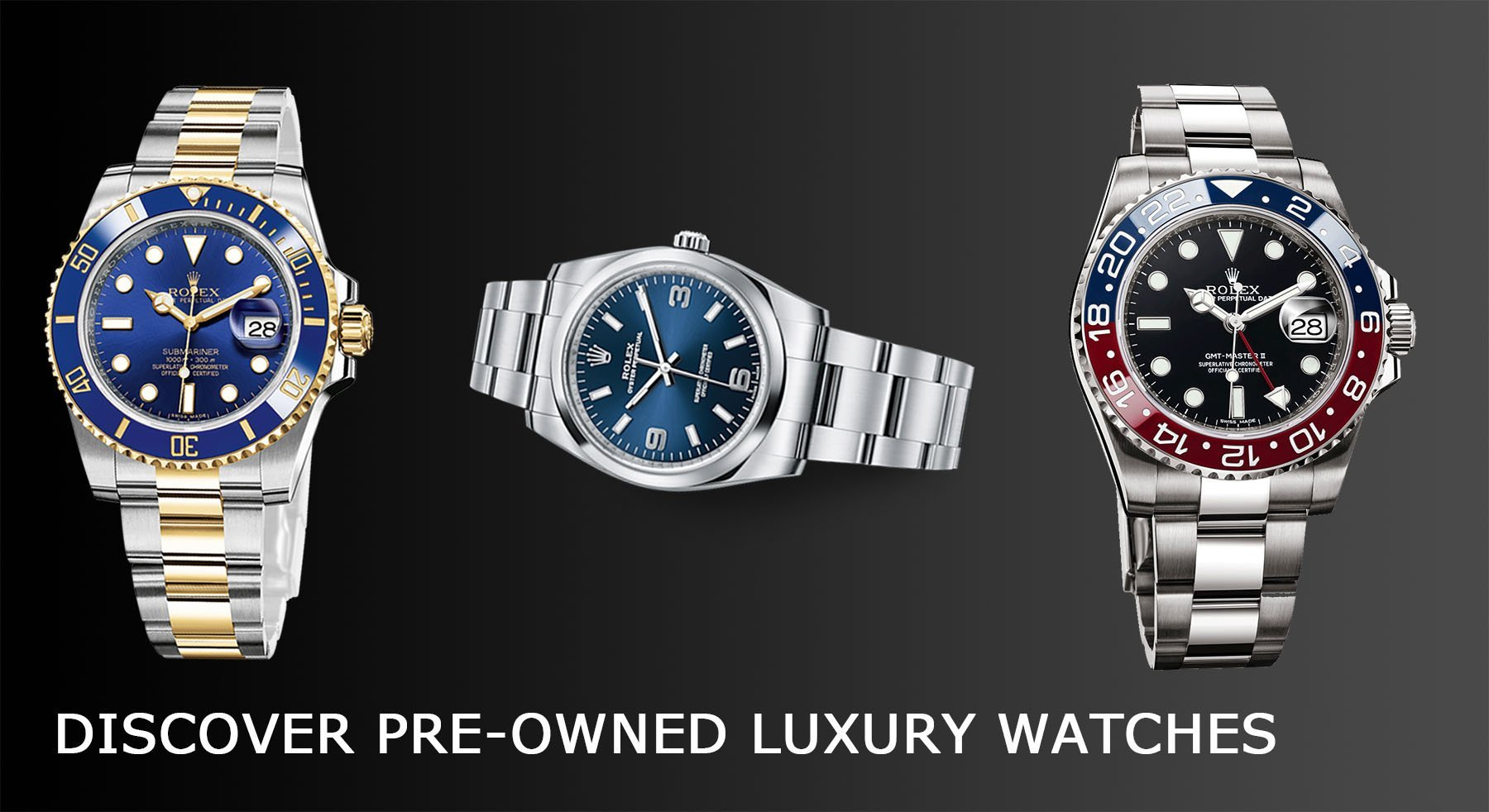 pre-owned second hand luxury watches