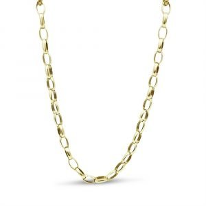 9ct gold belcher chain 20 Inch 6.9g