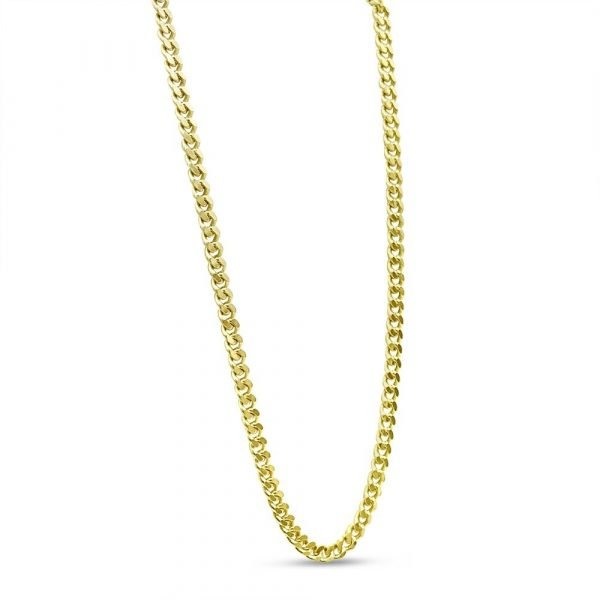 9ct Gold Curb Chain 24 Inch 2.5mm