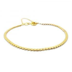 9ct gold S Link Bracelet