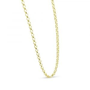 9ct Gold Belcher Chain 20""