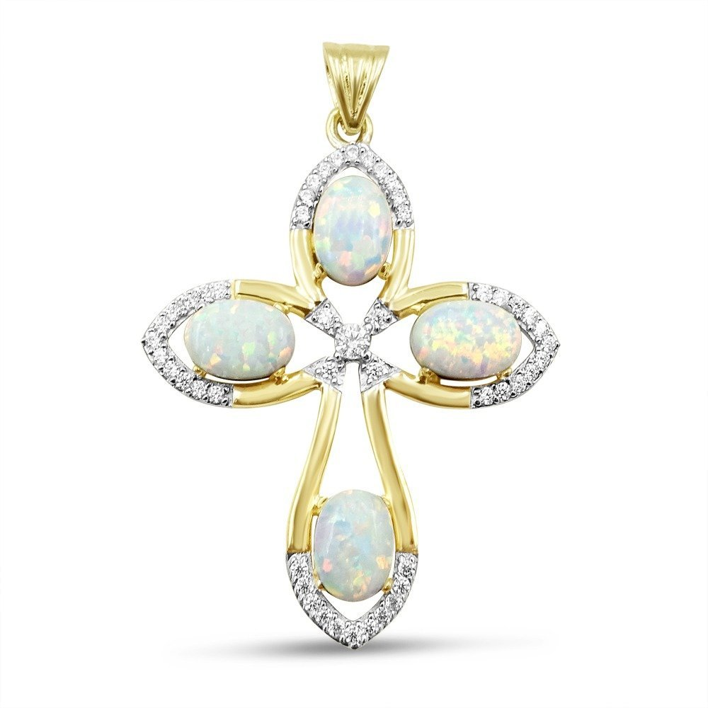 Created Opal Gold Jewellery