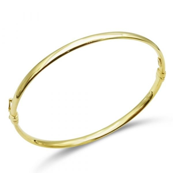 9ct Gold Ladies Bangle For Ladies