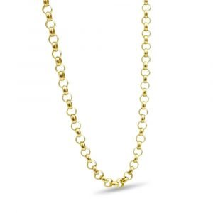 "9ct Gold Belcher Chain Lightweight 20"" 3mm"