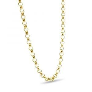 "9ct Gold Belcher Chain Lightweight 20"" 3mm"