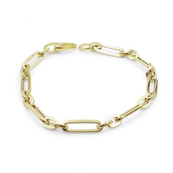 9ct Fancy Linked Bracelet