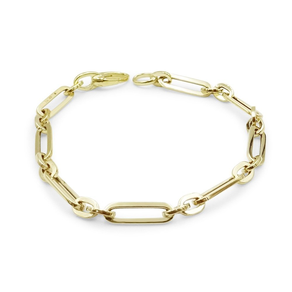 9ct Fancy Linked Bracelet