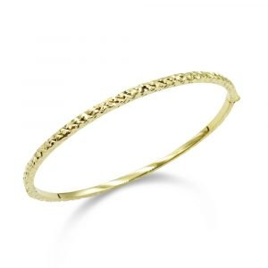 9ct Gold Bangle Womens