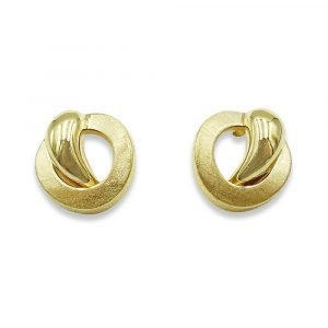 Fancy Gold Stud Earrings 9ct