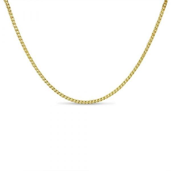 Fine Gold Curb Chain