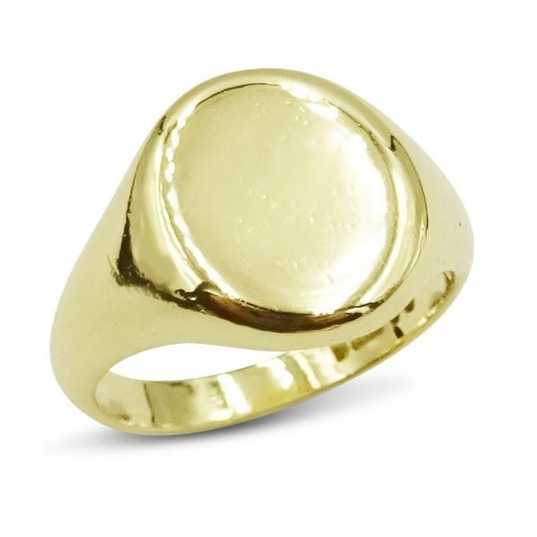 Pre-Owned Heavy Signet Ring