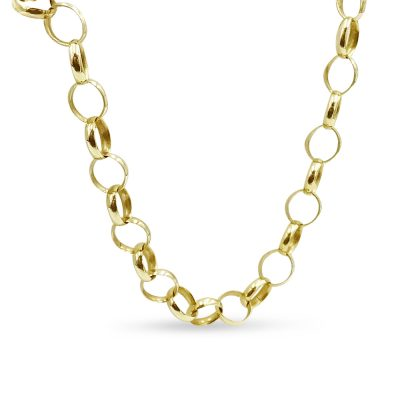 Pre-owned Gold Belcher Chain 9ct
