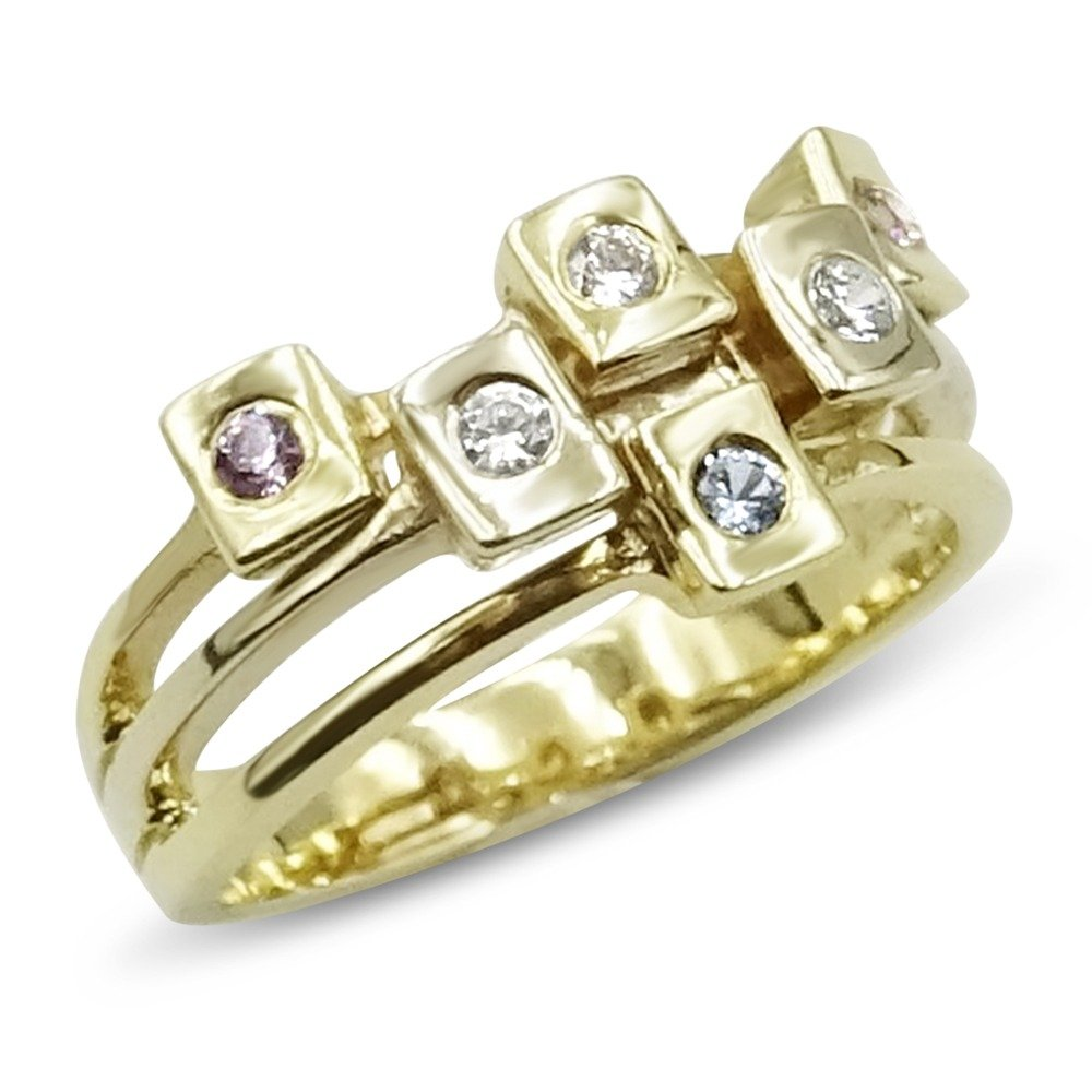 Pre-Owned 14 Karat Gold Ring Cubic Zirconia