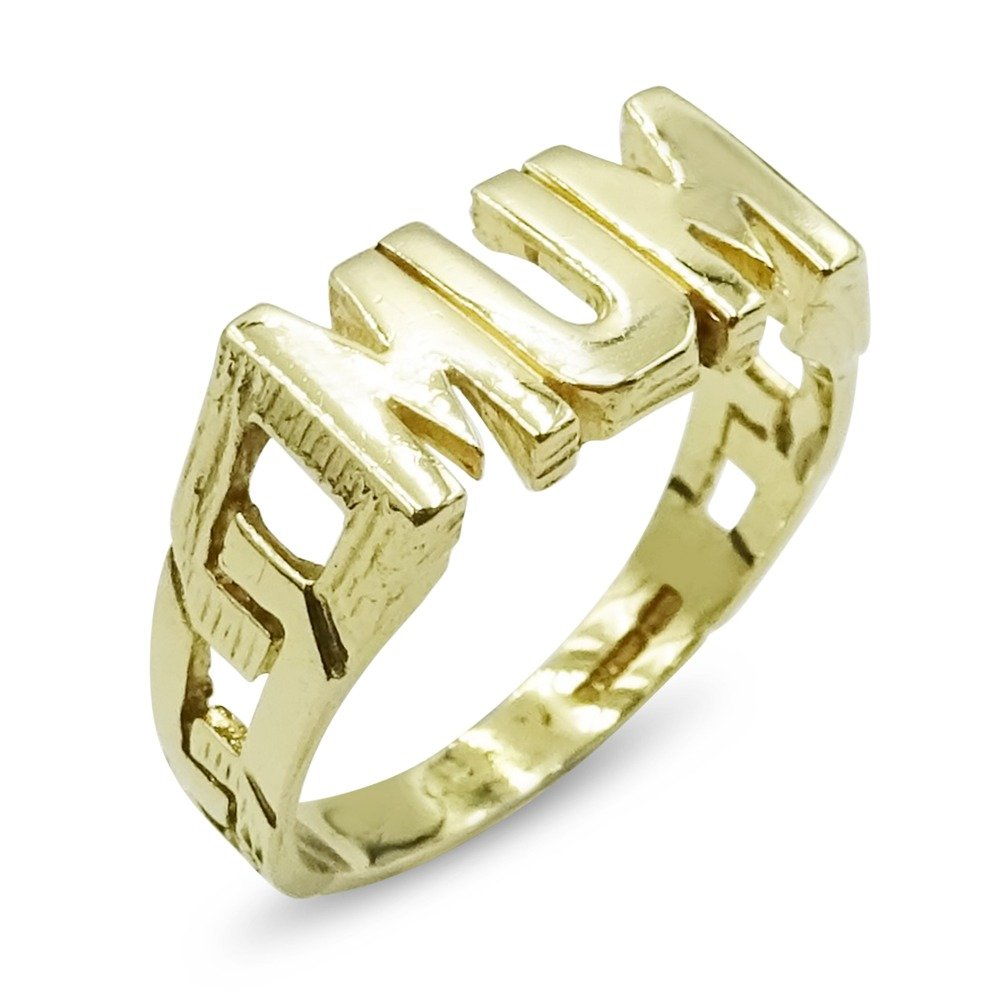 9ct Gold Mum Ring Pre-Owned