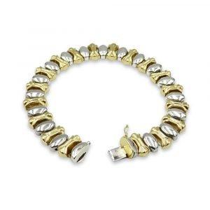 14k Gold Bracelet Ladies Pre-Owned