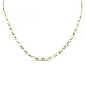 Figaro Necklace Gold Pre-Owned