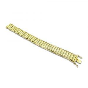 14ct Polish Gold Bracelet Warsaw Antique