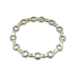 14ct Gold Diamond Bracelet