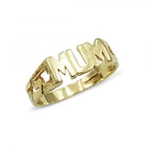 Gold Ring For Mum