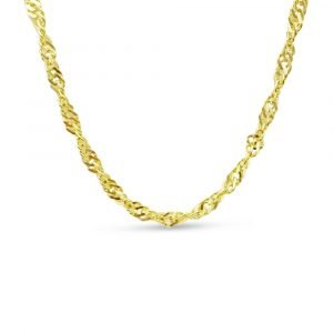 """Asian Gold Necklace 21kt Chain 26"""""""