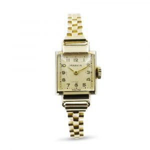 Marvin 9ct Gold Watch