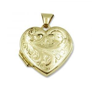 Heart Shaped Gold Locket 9ct