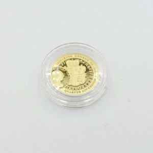 22ct Gold Quarter Sovereign 2020 KG 3