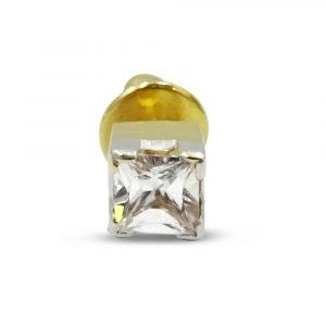 22ct Gold Single Stud Earring