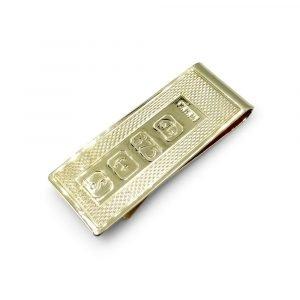 9ct Gold Money Clip Hallmark Design