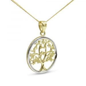 9ct Tree Of Life Gold Pendant